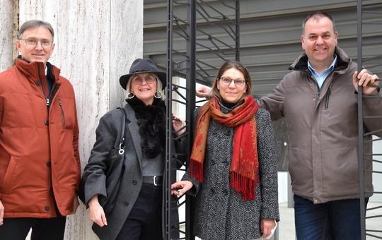 Reinhold Götz, Mechthild Finster, Michaela Klüpfel und Stephan Kleinhenz (von links)