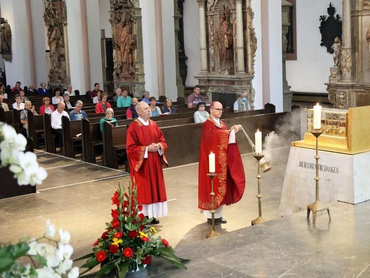 Mit einem feierlichen Pontifikalgottesdienst im Würzburger Kiliansdom ist die Kiliani-Wallfahrtswoche zu Ende gegangen.