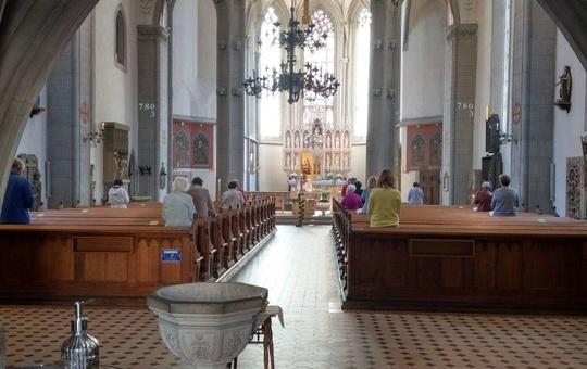 Gottesdienst unter Corona-Bedingungen