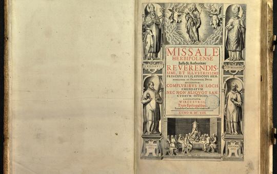 Würzburger Missale Julius Echter