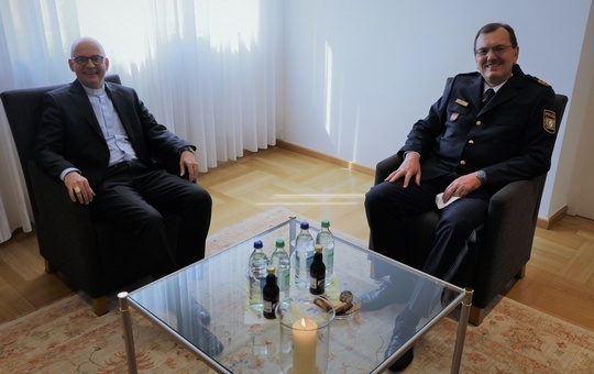 Abschiedsbesuch des Polizeipräsidenten