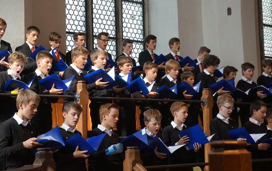 Konzert der Domsingknaben in der Thomanerkirche in Leipzig