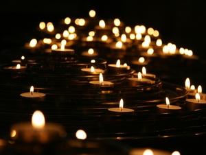 Kerzen leuchten