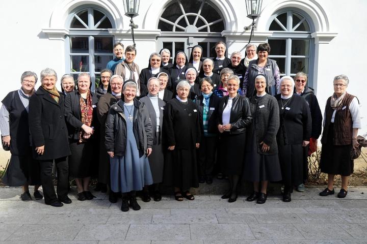 Treffen von Ordensoberinnen in Würzburg.