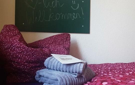 Zimmer im Antonia-Werr-Zentrum