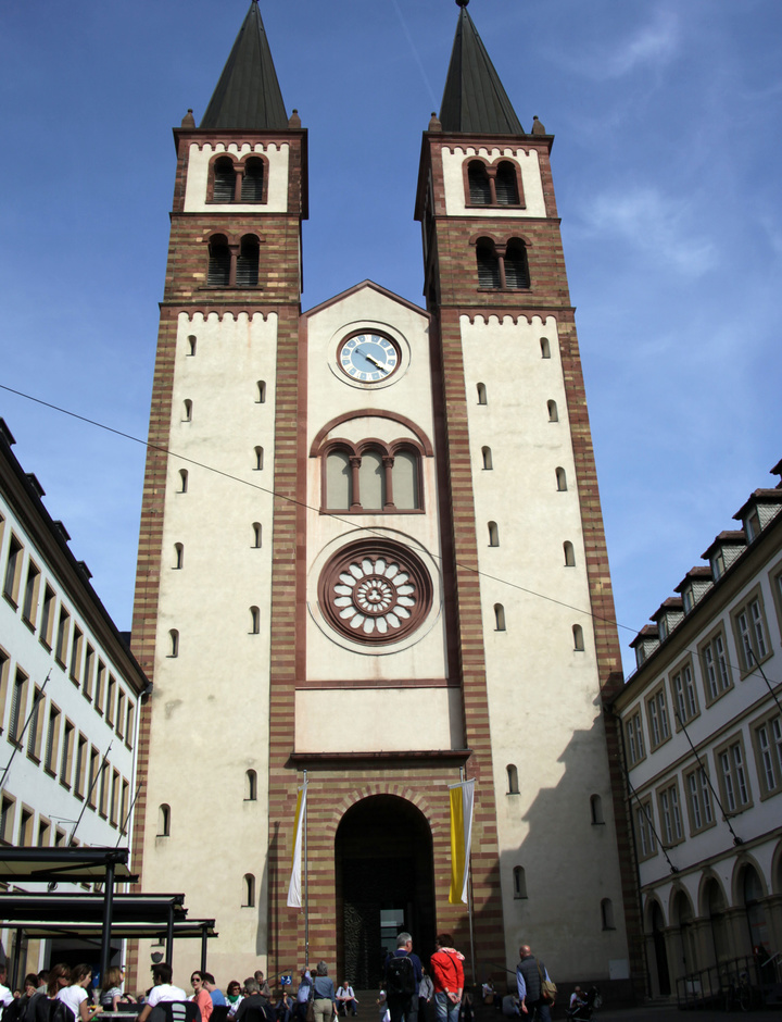 Der Kiliansdom in Würzburg.