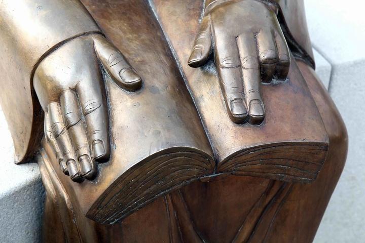 Luther-Skulptur