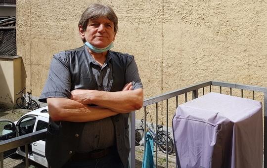 Karl-Heinz Maier hat im Johann-Weber-Haus endlich Hilfe gefunden.