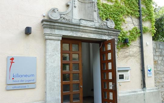 Eingang Kilianeum Würzburg