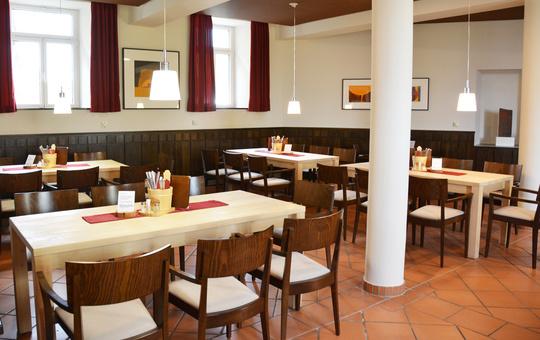 Gastraum der Klosterschänke Volkersberg
