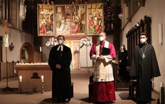 Ökumenisches Gebet in der Würzburger Marienkapelle