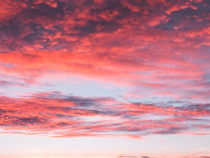 Symbolfoto: leuchtender Himmel