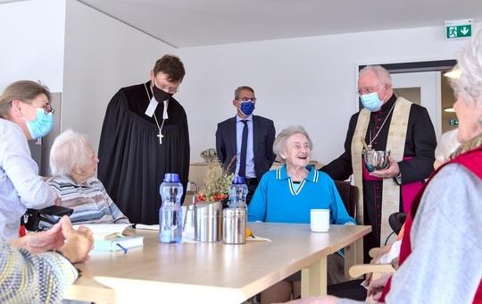 Segnung des Bischof-Scheele-Hauses