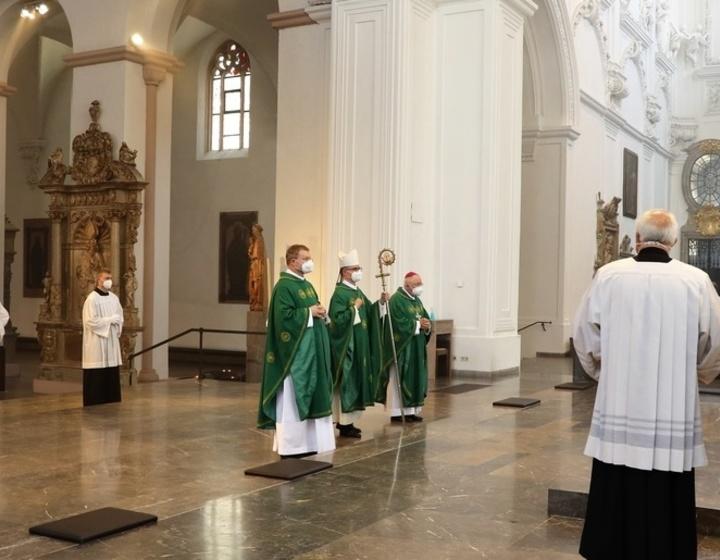 Dankgottesdienst zum dritten Jahrestag der Bischofsweihe