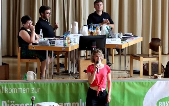 BDKJ-Diözesanversammlung im Kilianeum - Haus der Jugend