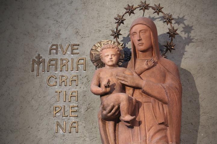 Mariendarstellung bei den Mariannhiller Missionaren in Würzburg