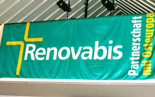 Banner der Renovabis-Aktion