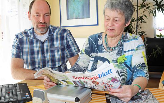 Das Sonntagsblatt gibt es währen der Coronakrise kostenlos