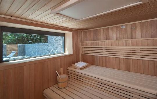 Sauna im  SeminarZentrum Rückersbach