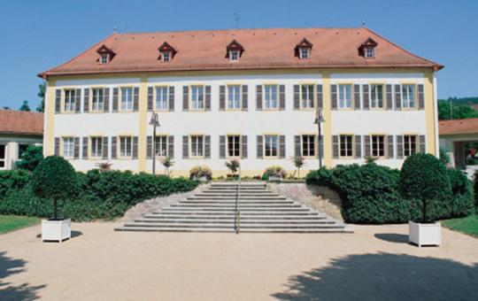 Kurhaus Bad Bocklet Außenansicht