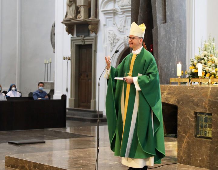 Pontifikalgottesdienst zu
