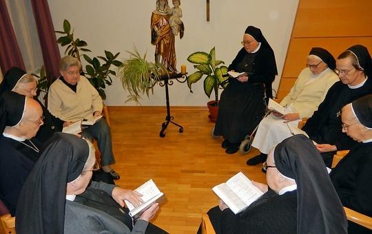 Ritaschwestern feiern Gottesdienst