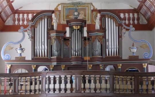 Orgel im Kloster Himmelthal.