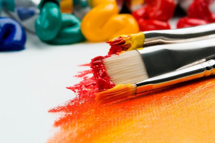 Malerei und Kunst