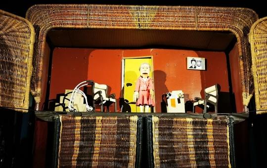 Korbtheater für die Erlöserschwestern.