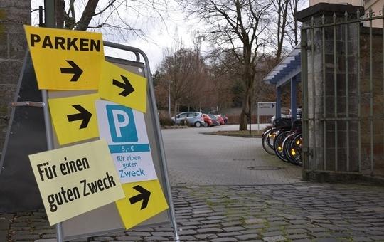 Parken für den guten Zweck