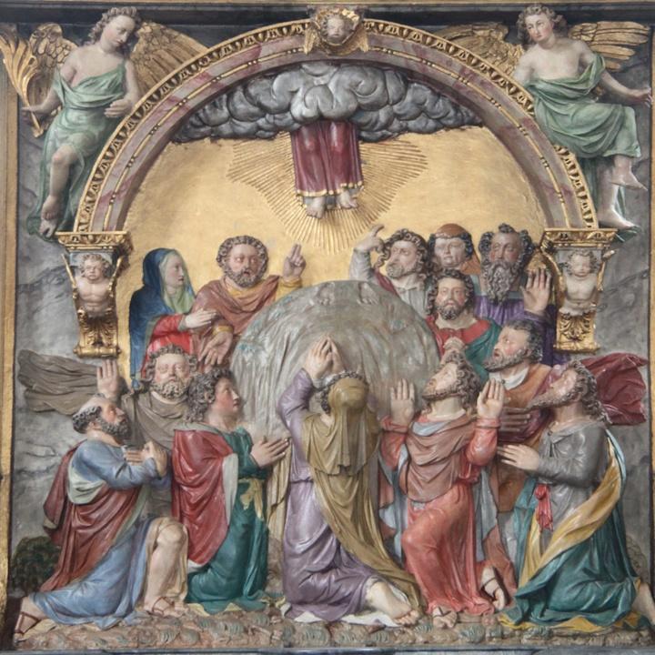 Darstellung der Himmelfahrt Christi in Darstadt
