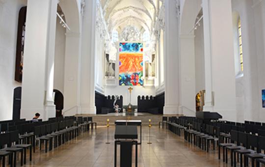 Augustinerkirche von innen