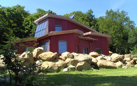 Jugendhaus Thüringer Hütte von außen