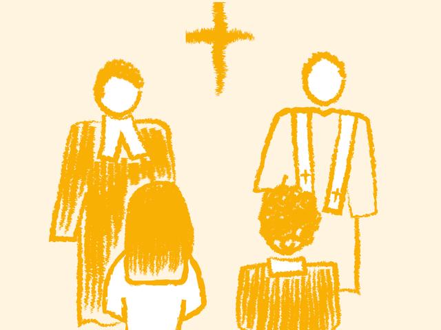 Trauung eines katholisch-evangelischen Paares