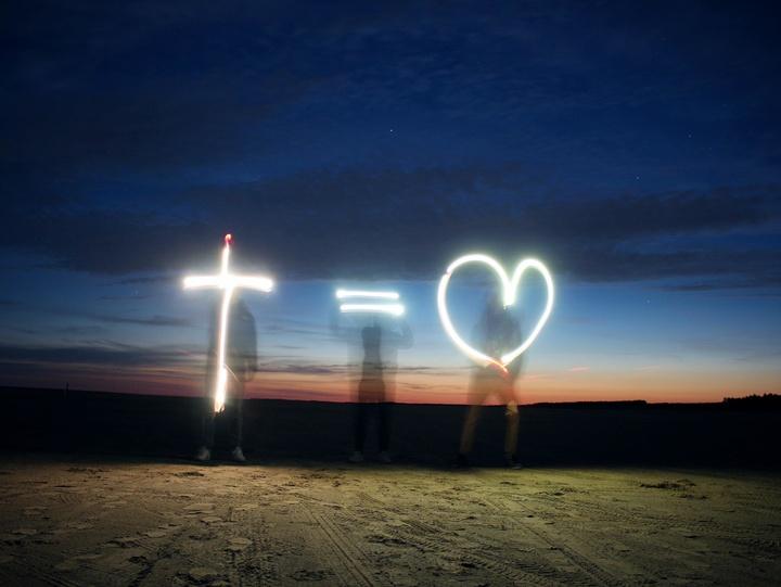 Kreuz ist Herz