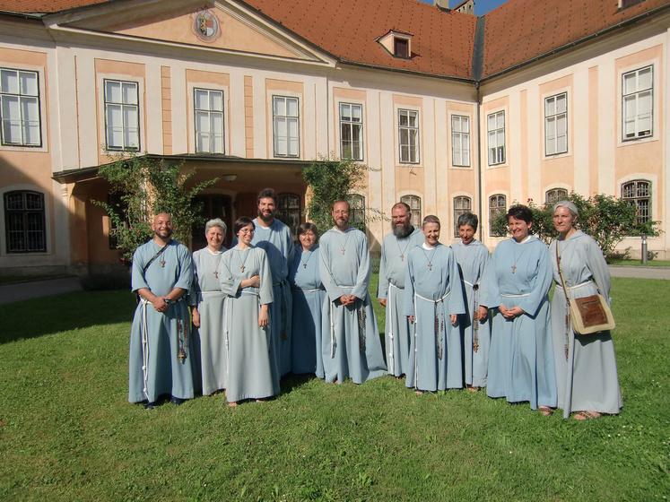Archivbild der Franziskanischen Gemeinschaft Aschaffenburg