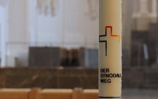 Kerze des Synodalen Wegs