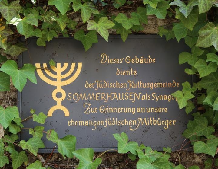 Erinnerung an ehemalige jüdische Mitbürger