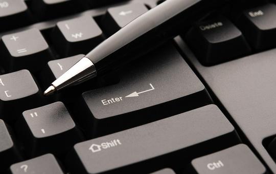 Tastatur und Stift
