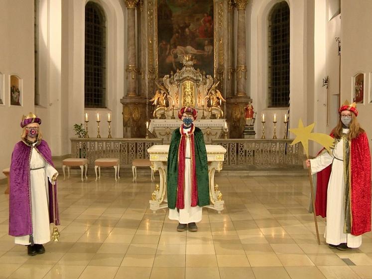 Digitaler Sternsinger-Segen vom Bistum für das Bistum