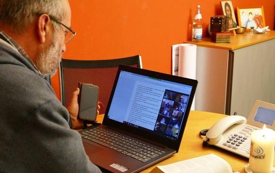 Walter Lang von der Internetseelsorge