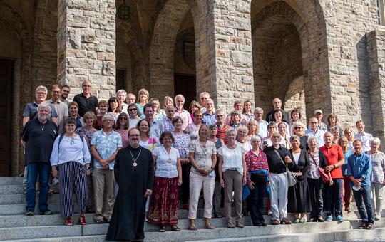 Pilgergruppe aus Münsterschwarzach