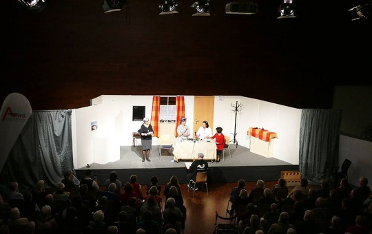 Jubiläumsvorstellung 25 Jahre Theatergruppe