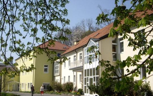 Haus an den Kastanien in Bad Königshofen von außen