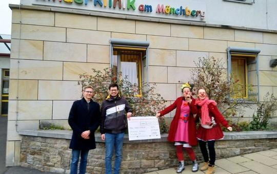 BDKJ Main-Spessart spendet 1000 Euro für Klinikclowns