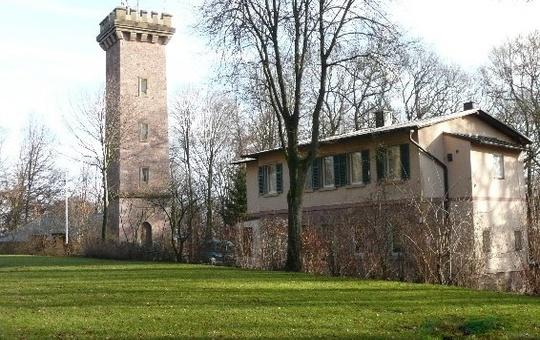 Jugendhaus am Ludwigsturm von außen