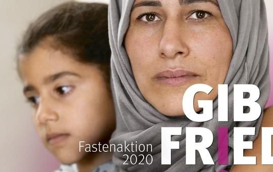 Aktionsplakat Misereor-Fastenaktion 2020