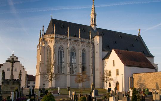 Außenansicht Ritterkapelle Haßfurt