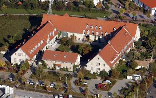 Jugendbegegnungshaus Windrad von oben
