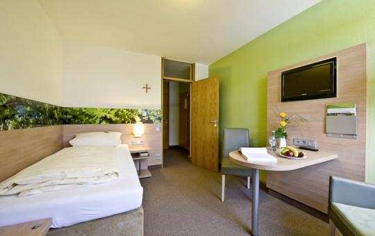 Hotelzimmer des Tagungszentrums Schmerlenbach